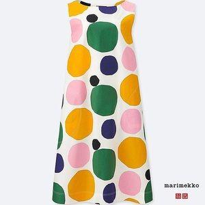 Marimekko Polka dot Shift dress